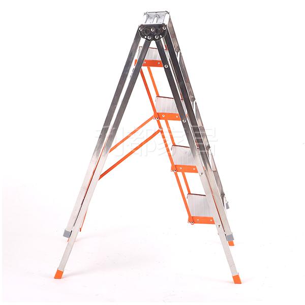 多功能家用落地折叠不锈钢阳台晒衣架梯子
