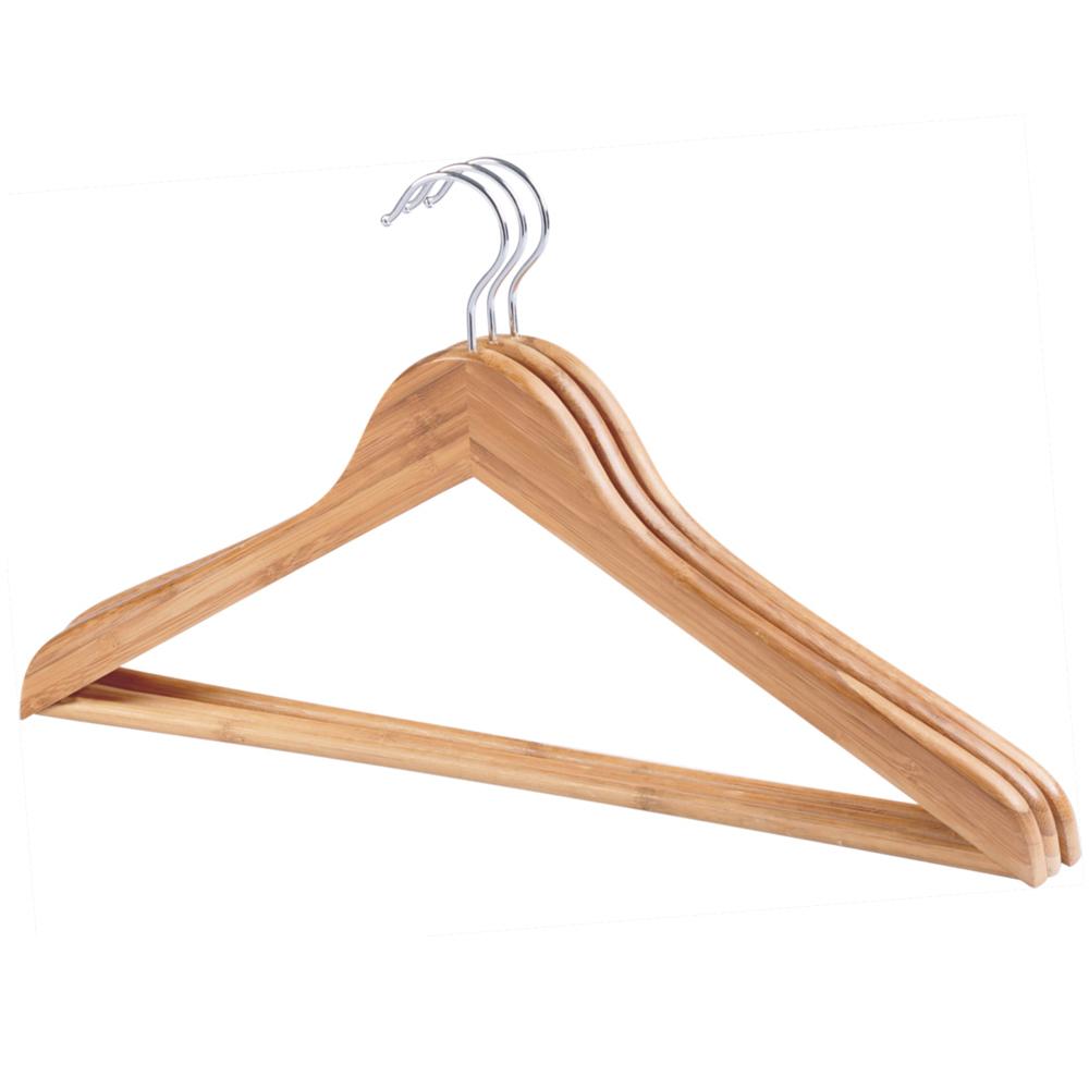 高档竹木质衣架
