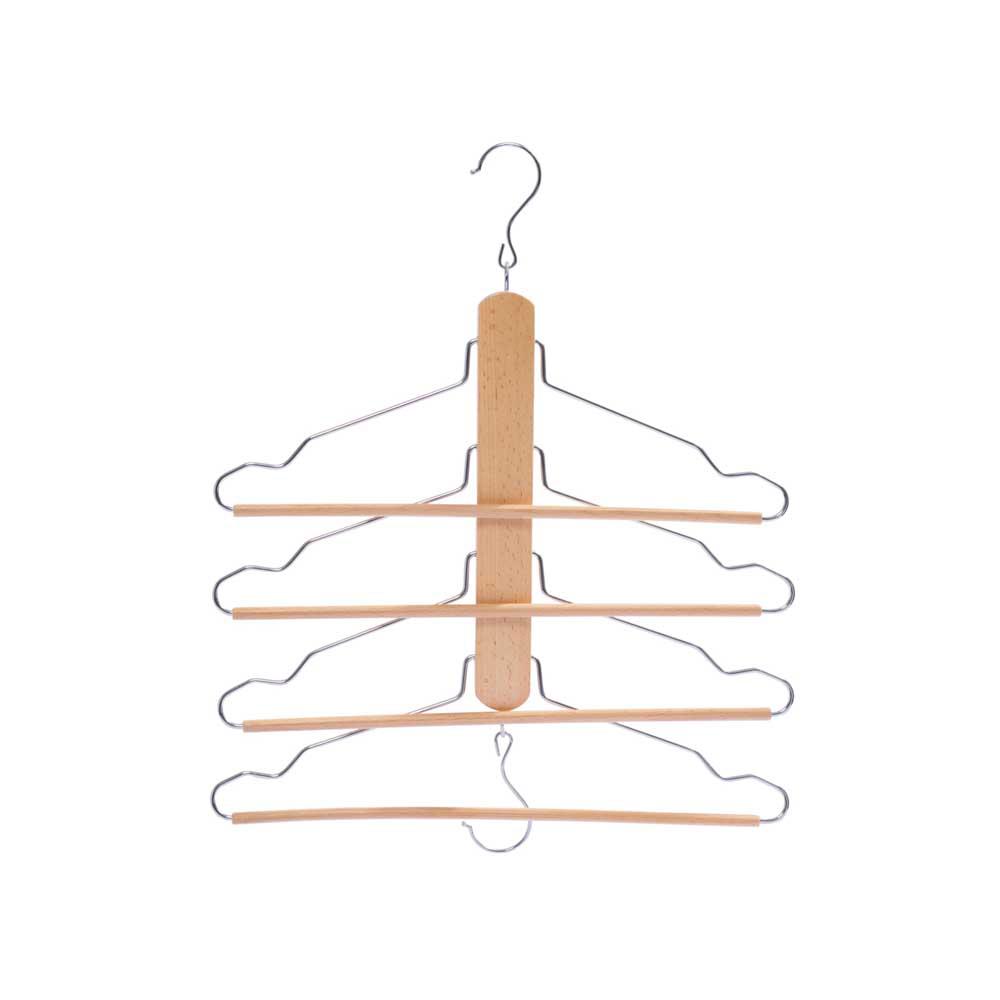 木质四层裤架