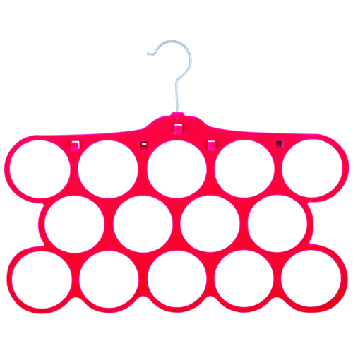 十四孔多功能丝巾架